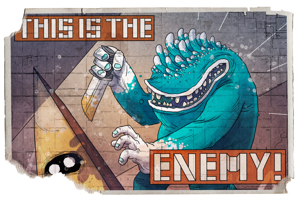 Card---The-Enemy