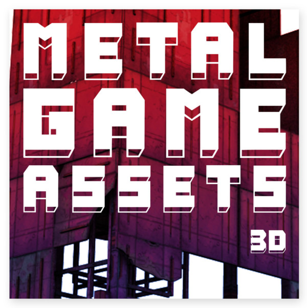 3D METAL GAME ASSETS