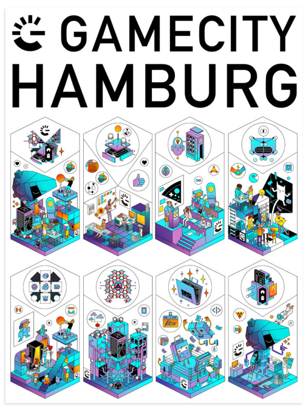 HAMBURG GAME CITY – KEY ART