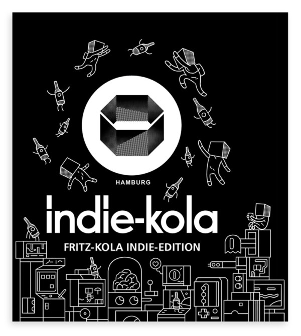 INDIE KOLA – BOTTLE LABEL